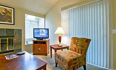 Living Room, Villa Bonita Apartments, 0