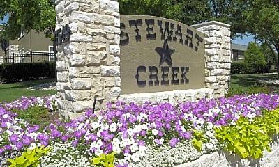 Community Signage, Stewart Creek, 2