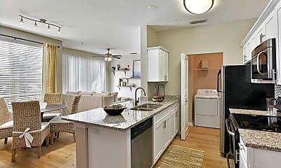 Kitchen, Lake House Apartments, 1