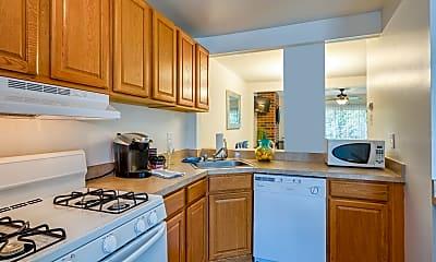 Kitchen, Ivy Gates Apartments, 1