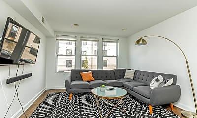 Living Room, 938 N Noble St 2, 1