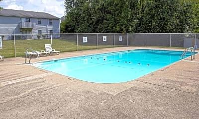 Pool, Kingsgate Village Apartments, 1