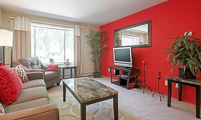 Living Room, Lake Point Terrace Apartments, 1
