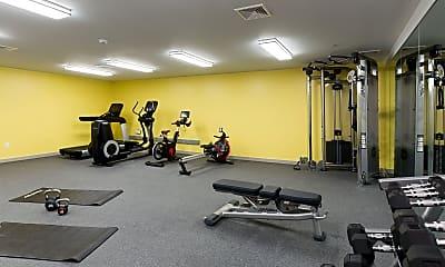 Fitness Weight Room, 735 Truman, 2