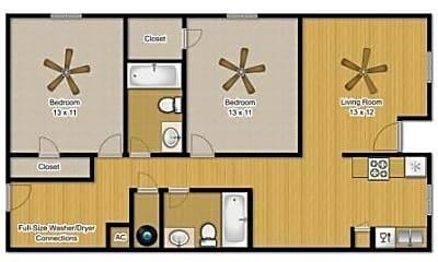 Building, 3602 Comanche St, 1