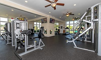 Fitness Weight Room, The Park at Rialto, 1