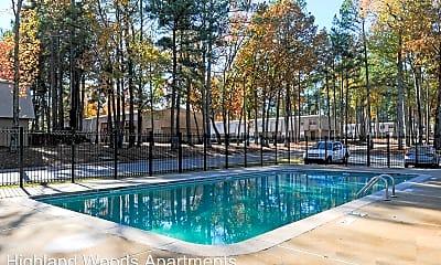 Pool, Highland Woods, 2