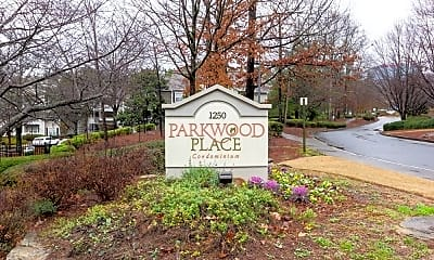 Community Signage, 1250 Parkwood Cir SE Unit 1202, 2