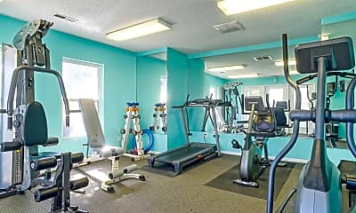 Fitness Weight Room, Sand Ridge Apartments, 1