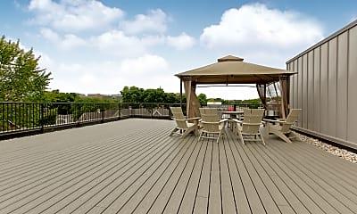 Recreation Area, 700 East Apartments, 2
