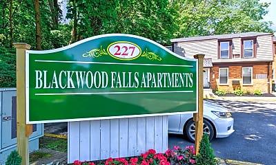 Community Signage, Blackwood Falls, 2