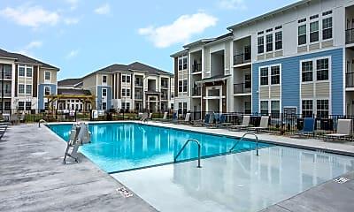 Pool, Waterside Apartments, 1