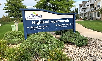 Highland Village I & II Senior Apartments, 1