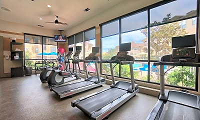 Fitness Weight Room, The Sovereign Apartments, 2
