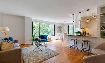 Living Room, 2501 Calvert St NW 312, 0