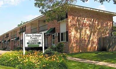 Community Signage, New Orleans Court, 2