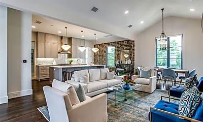 Living Room, 4502 Abbott Ave 301, 0