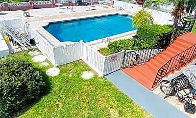 Pool, 1100 Atlantic Shores Blvd 404, 1