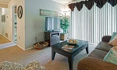 Living Room, WestWind Apartments, 1