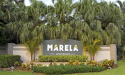 Community Signage, Marela Apartments, 2