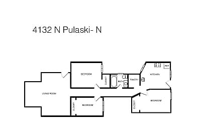 Building, 4128 N Pulaski Rd, 2