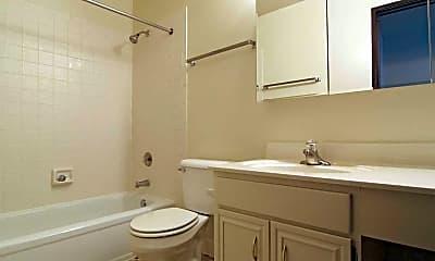 Bathroom, Sunburst Apartments, 2