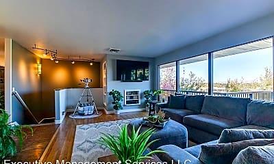Living Room, 5126 Bel Air St, 0