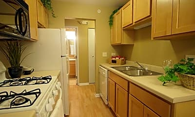Kitchen, Wilshire Towers, 1