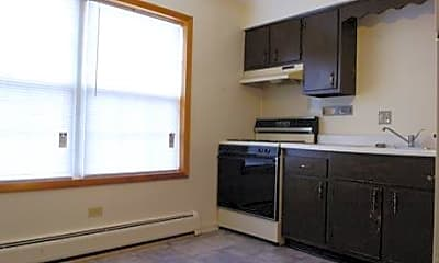 Kitchen, Colonial Apartments, 2