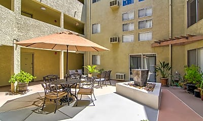Recreation Area, Valley Apartments, 1