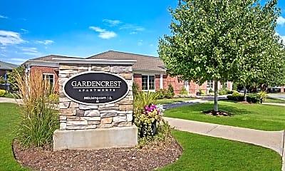 Community Signage, Gardencrest Apartments, 2