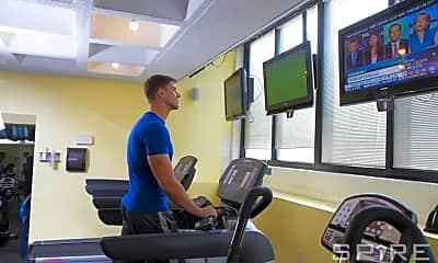 Fitness Weight Room, 20 Waterside Plaza, 2