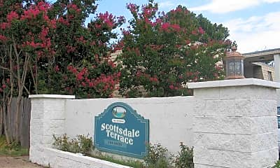 Community Signage, Scottsdale Terrace, 1