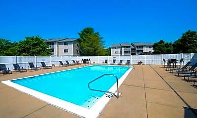 Pool, Sherwood Crossing Apartments, 1