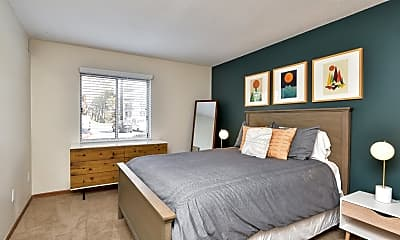 Bedroom, Minnetonka Hills Apartments, 1
