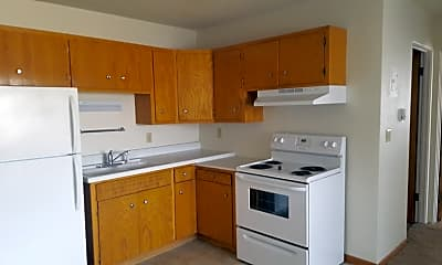 Kitchen, Rivers Edge Apartments, 0