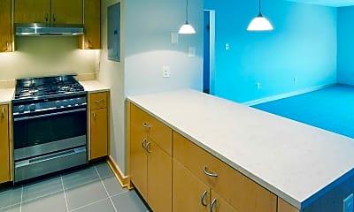 Kitchen, Greenway Village Apartments, 1