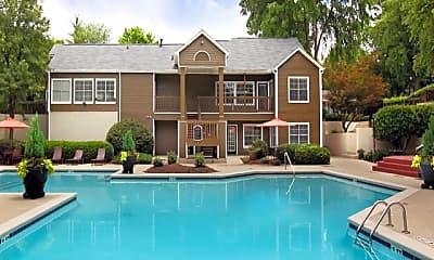 Pool, Greenhouse Apartments (Frey), 0