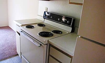 Kitchen, Rosewood, 1
