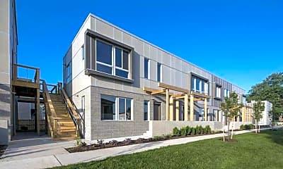 Building, Living at 600 Douglas, 1
