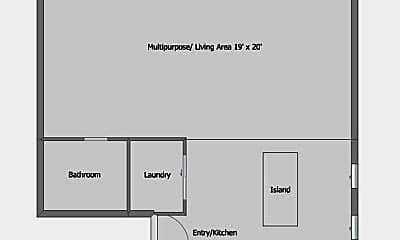 Bathroom, 814 Main St, 2
