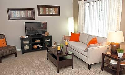 Living Room, Sterling Pelham Apartments, 1