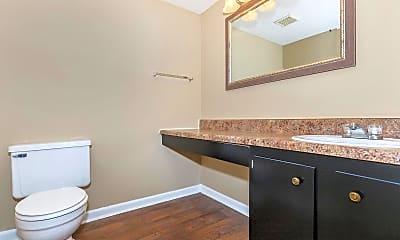 Bathroom, Ridgeside Apartments, 2