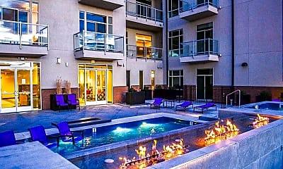 Pool, Lofts at Lincoln Station Apartments, 0