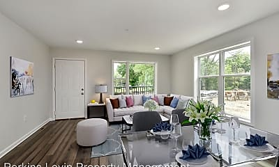 Living Room, 1721 Lagoon Ave, 1