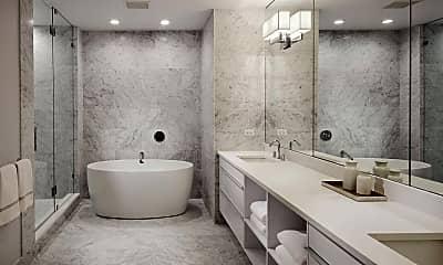 Bathroom, Two West Delaware, 1