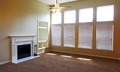 Living Room, 7303 Coopers Hawk Drive, 1