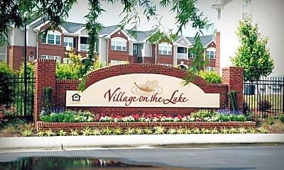 Community Signage, Village On The Lake, 0