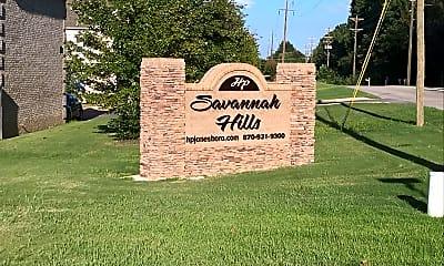 Savannah Hills Apartments & Clubhouse, 1
