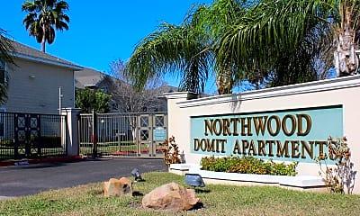 Community Signage, Northwood Domit Apartments, 1
